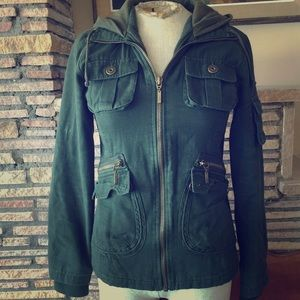Urban Outfitters green Military style jacket M
